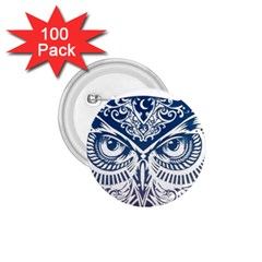 Owl 1.75  Buttons (100 pack)