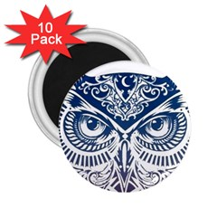 Owl 2.25  Magnets (10 pack)