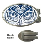 Owl Money Clips (Oval)  Front