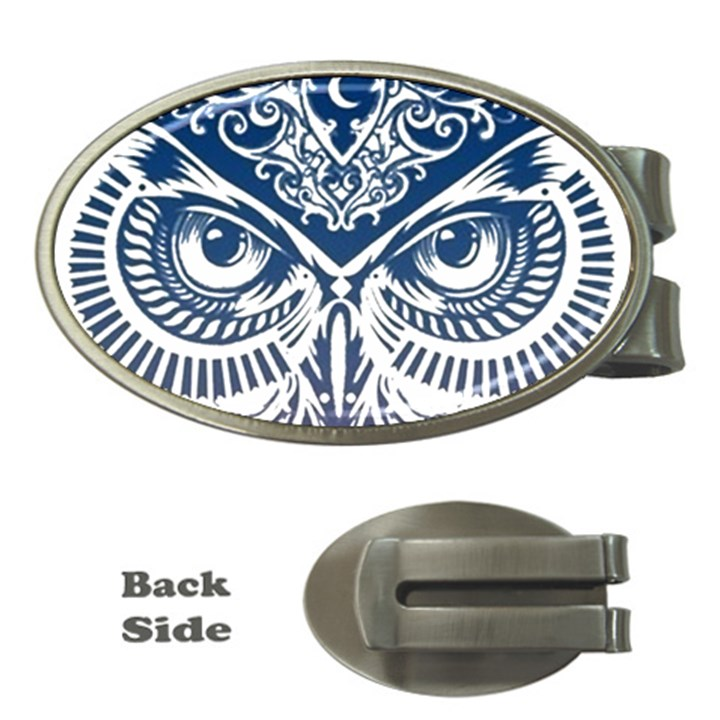 Owl Money Clips (Oval)