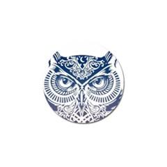 Owl Golf Ball Marker