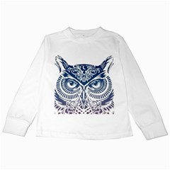 Owl Kids Long Sleeve T Shirts