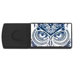 Owl Usb Flash Drive Rectangular (4 Gb)