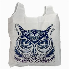 Owl Recycle Bag (two Side)