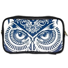Owl Toiletries Bags 2 Side