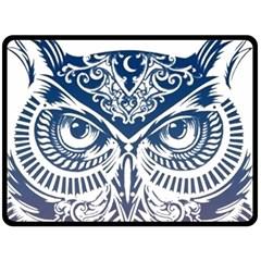 Owl Fleece Blanket (Large)