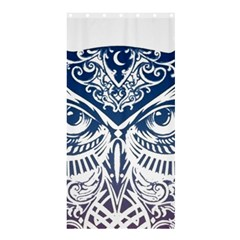 Owl Shower Curtain 36  X 72  (stall)