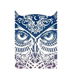 Owl Shower Curtain 48  X 72  (small)