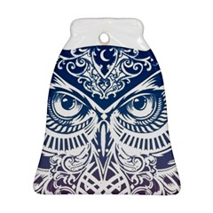 Owl Bell Ornament (two Sides)
