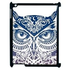 Owl Apple Ipad 2 Case (black)