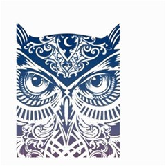 Owl Small Garden Flag (two Sides)