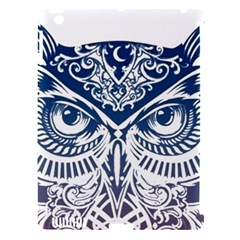 Owl Apple Ipad 3/4 Hardshell Case (compatible With Smart Cover)