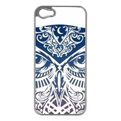 Owl Apple Iphone 5 Case (silver)