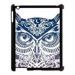 Owl Apple Ipad 3/4 Case (black)