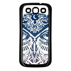 Owl Samsung Galaxy S3 Back Case (black)