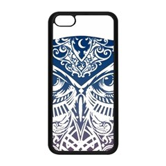 Owl Apple iPhone 5C Seamless Case (Black)