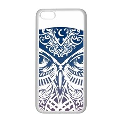 Owl Apple iPhone 5C Seamless Case (White)