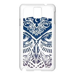 Owl Samsung Galaxy Note 3 N9005 Case (white)