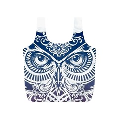 Owl Full Print Recycle Bags (s)