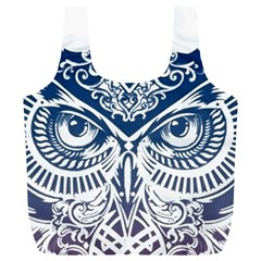 Owl Full Print Recycle Bags (L)