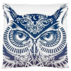 Owl Standard Flano Cushion Case (two Sides)