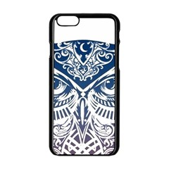 Owl Apple iPhone 6/6S Black Enamel Case