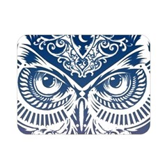 Owl Double Sided Flano Blanket (mini)