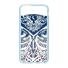 Owl Apple Seamless iPhone 6/6S Case (Color)