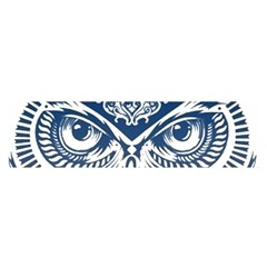 Owl Satin Scarf (oblong)