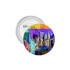 New York City The Statue Of Liberty 1.75  Buttons