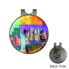 New York City The Statue Of Liberty Hat Clips with Golf Markers