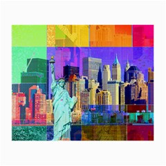 New York City The Statue Of Liberty Small Glasses Cloth