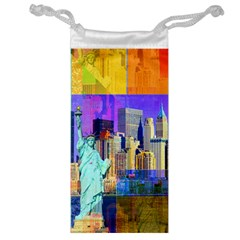 New York City The Statue Of Liberty Jewelry Bag