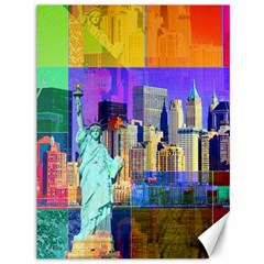 New York City The Statue Of Liberty Canvas 36  x 48