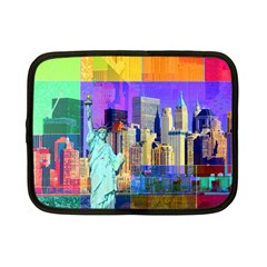 New York City The Statue Of Liberty Netbook Case (small)