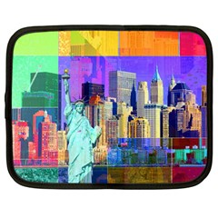 New York City The Statue Of Liberty Netbook Case (large)
