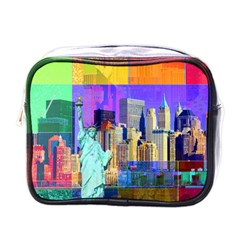 New York City The Statue Of Liberty Mini Toiletries Bags