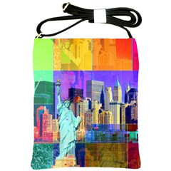 New York City The Statue Of Liberty Shoulder Sling Bags