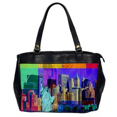 New York City The Statue Of Liberty Office Handbags