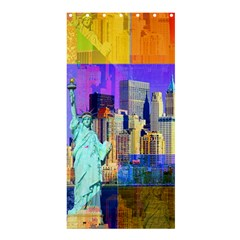 New York City The Statue Of Liberty Shower Curtain 36  X 72  (stall)