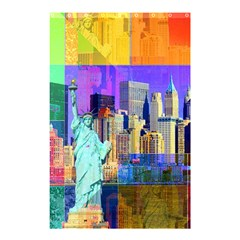 New York City The Statue Of Liberty Shower Curtain 48  X 72  (small)