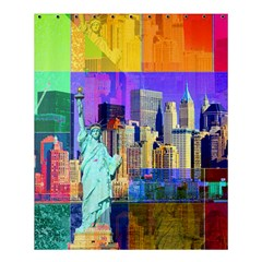 New York City The Statue Of Liberty Shower Curtain 60  x 72  (Medium)