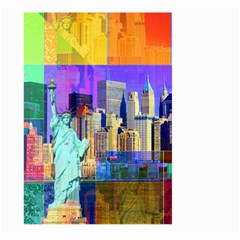 New York City The Statue Of Liberty Large Garden Flag (two Sides)