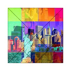 New York City The Statue Of Liberty Acrylic Tangram Puzzle (6  X 6 )
