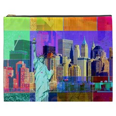 New York City The Statue Of Liberty Cosmetic Bag (xxxl)