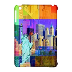 New York City The Statue Of Liberty Apple iPad Mini Hardshell Case (Compatible with Smart Cover)