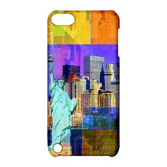 New York City The Statue Of Liberty Apple Ipod Touch 5 Hardshell Case With Stand