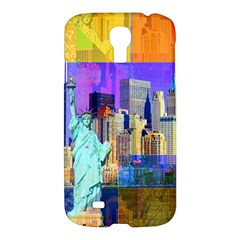 New York City The Statue Of Liberty Samsung Galaxy S4 I9500/I9505 Hardshell Case