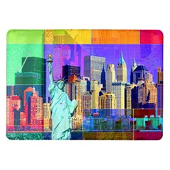 New York City The Statue Of Liberty Samsung Galaxy Tab 10 1  P7500 Flip Case