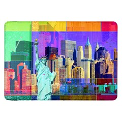New York City The Statue Of Liberty Samsung Galaxy Tab 8 9  P7300 Flip Case